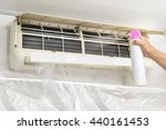 cleaning of air conditioner