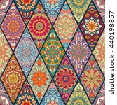 seamless pattern. vintage...   Shutterstock .eps vector #440198857