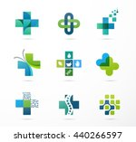 medical  healthcare and... | Shutterstock .eps vector #440266597