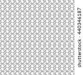 wavy pattern mesh  seamless... | Shutterstock .eps vector #440346187