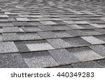 Asphalt  Shingles Photo. Close...