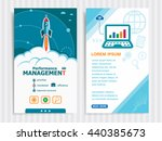 performance management and... | Shutterstock .eps vector #440385673