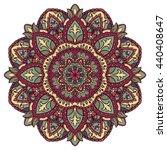 Traditional Ornamental Round...