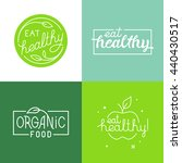 vector set of logo design... | Shutterstock .eps vector #440430517