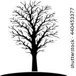tree vector illustration | Shutterstock .eps vector #440453377