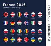 vector flags of france 2016... | Shutterstock .eps vector #440457577