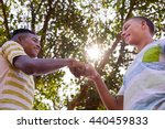 concept of racism and... | Shutterstock . vector #440459833