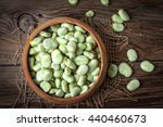 Fresh Broad Beans In A...