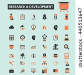 research development icons | Shutterstock .eps vector #440513647
