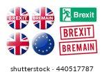 bremain brexit | Shutterstock .eps vector #440517787