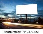 billboard blank for outdoor... | Shutterstock . vector #440578423