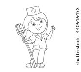 coloring page outline of... | Shutterstock .eps vector #440646493