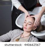 unrecognizable professional... | Shutterstock . vector #440662567