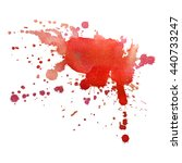 abstract watercolor stain with... | Shutterstock .eps vector #440733247