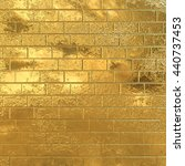 Golden Brick Wall  Gold...