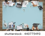 business meeting team... | Shutterstock . vector #440775493