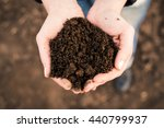 soil  cultivated dirt  earth ... | Shutterstock . vector #440799937