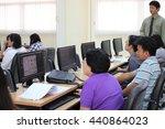 june 19  2016   teachers study...   Shutterstock . vector #440864023