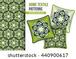 pattern and set of 3 matching... | Shutterstock .eps vector #440900617