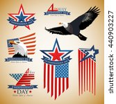 independence day. us... | Shutterstock .eps vector #440903227