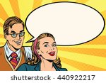 business people announcement... | Shutterstock .eps vector #440922217