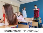 education  bullying  conflict ... | Shutterstock . vector #440934067