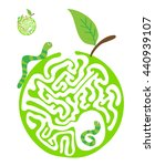 Maze Puzzle For Kids With...