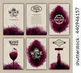 design templates background... | Shutterstock .eps vector #440946157