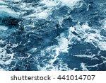 Splashing Waves View Of Ripple...