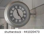 Clock. The Big Clock At The...