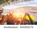 football  soccer a lot of fans  ... | Shutterstock . vector #441026173