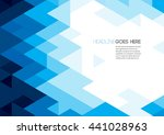 vector of polygonal background | Shutterstock .eps vector #441028963