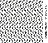 the geometric pattern by...   Shutterstock .eps vector #441042547