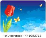 Floral Summer Or Spring...