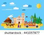 illustration of philippines's... | Shutterstock .eps vector #441057877