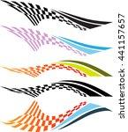 vehicle graphics  stripe  ...   Shutterstock .eps vector #441157657