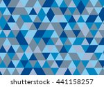 colorful geometric triangle... | Shutterstock .eps vector #441158257