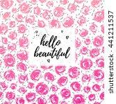 Hello Beautiful Greeting Card ...