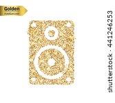 gold glitter vector icon of...   Shutterstock .eps vector #441246253