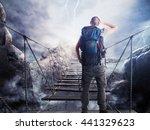 3d rendering of explorer on...   Shutterstock . vector #441329623