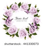 holiday background with beauty... | Shutterstock .eps vector #441330073