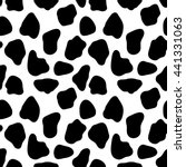 Cow Seamless Pattern  Abstract...