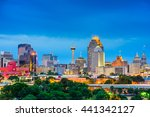 San Antonio  Texas  Usa Skyline.
