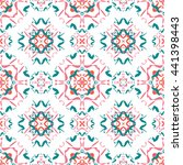 abstract floral ornament... | Shutterstock .eps vector #441398443