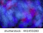 bokeh  from small bulbs are... | Shutterstock . vector #441453283