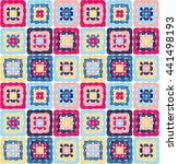 Granny Squares Pattern And...