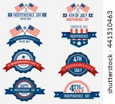 collection of independence day...   Shutterstock .eps vector #441510463
