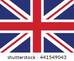 united kingdom vector flag | Shutterstock .eps vector #441549043