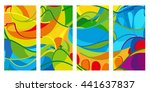 rio. 2016 set of colorful... | Shutterstock .eps vector #441637837