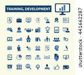 training development icons | Shutterstock .eps vector #441662287